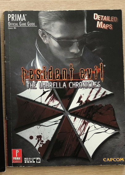 Guia Oficial - Resident Evil Umbrella Chronicles (inglês)