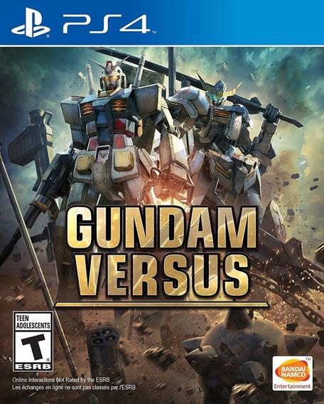 Gundam Versus Ps4 - Mídia Física - Lacrado