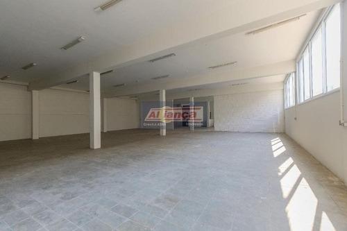 Prédio Para Alugar, 2300 M²- Vila Galvão - Guarulhos/sp - Ai16344