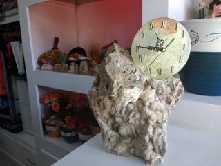 Reloj De Piedra Artesanal