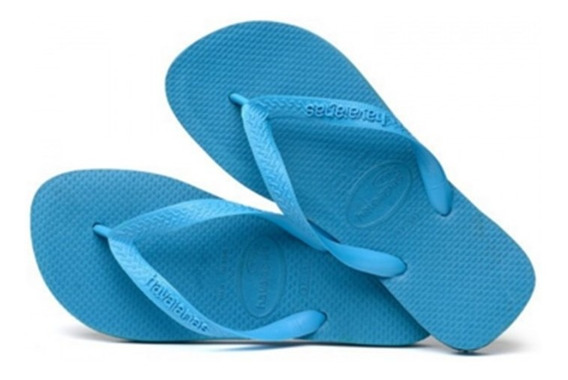 Ojotas Havaianas X 24 Pares!! Modelo Color Azul Piscina