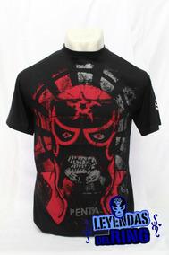 Camiseta Lucha Libre Pentagon Roja