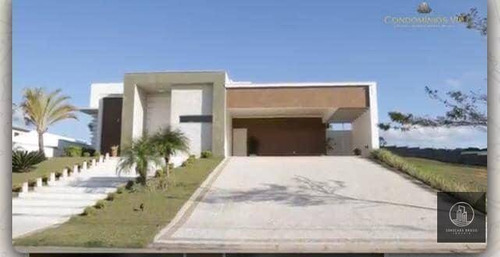 Casa Com 4 Dormitórios, 420 M² - Venda Por R$ 2.000.000,00 Ou Aluguel Por R$ 12.000,00/mês - Parque Reserva Fazenda Imperial - Sorocaba/sp - Ca0160