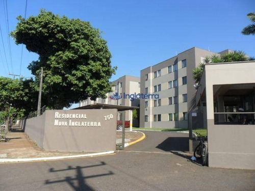 Apartamento Com 2 Dormitórios Para Alugar, 47 M² Por R$ 550/mês - Monte Belo - Londrina/pr - Ap0917