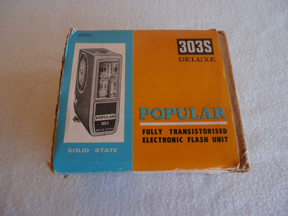 Flash Marca Popular 303s - Made In Japan
