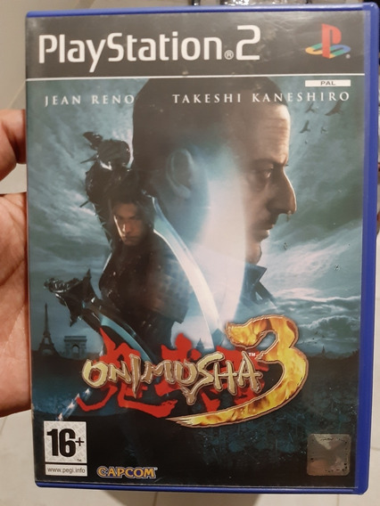 Onimusha 3 Original Ps2 Europeu Pal