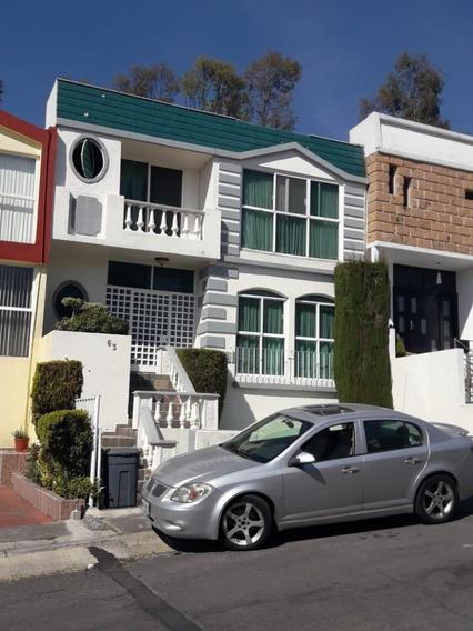 Bonita Casa En Venta Tres Recamaras Con Vigilancia 24 Hr