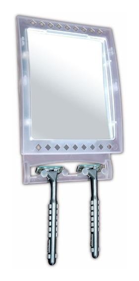 2 Espelhos Antiembaçante Para Banheiro Box Azulejo Barbear