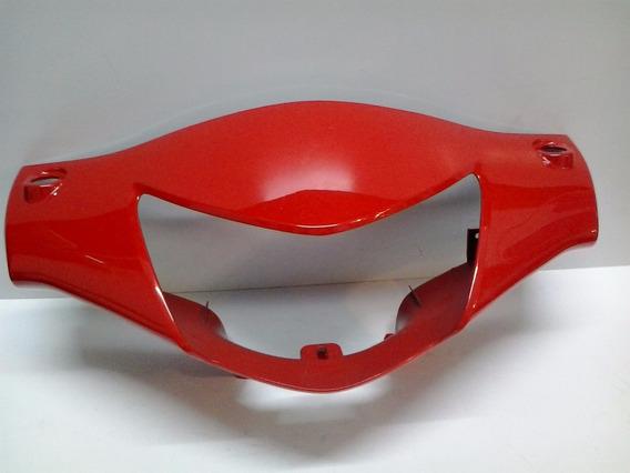 Carenagem Superior Do Farol Biz 125 Ks Es 2007 2008 Vermelho