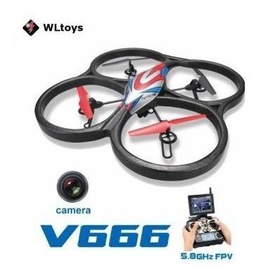 Drone Wltoys V666 Quadcopter Met Fpv Functie