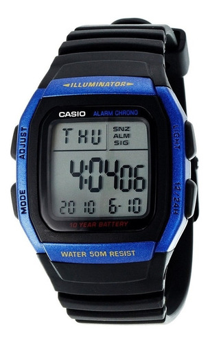 Reloj Hombre Casio W-96h Digital Colores / Lhua Store