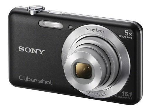 Câmera Digital Sony Dsc-w710 + Cartão De 8gb