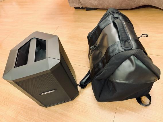 Caixa Bose S1 Pro C/ Bateria + Mochila Bose S1 Backpack Zero