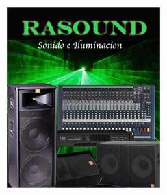 Alquiler Audio Profesional Parlante Micrófono Mixer Bandas