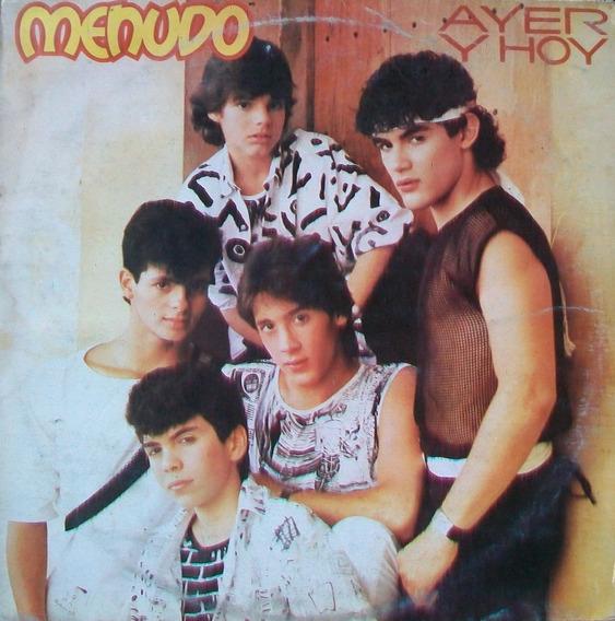 Menudo - Ayer Y Hoy Disco Vinilo Lp
