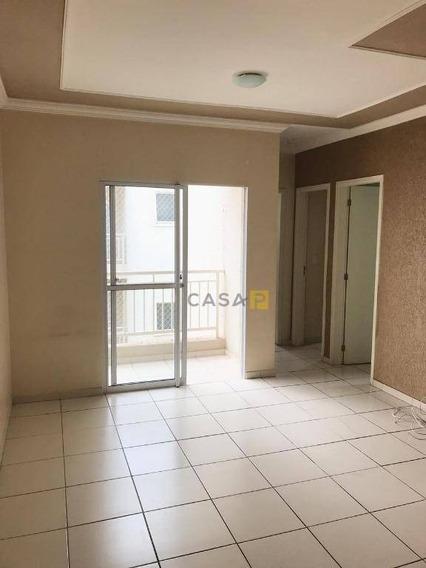 Apartamento À Venda, 52 M² Por R$ 180.000 - Parque Planalto - Santa Bárbara D