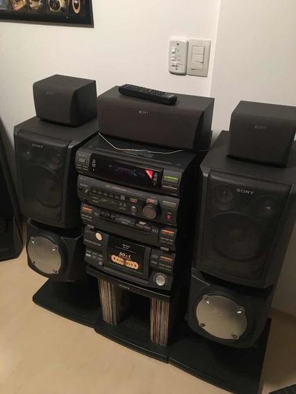 Som Sony Lbt-xb850av Com Carrossel De 51 Cds E Todos Racks