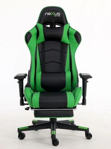 Imagem 1 de 4 de Cadeira Gamer Nexus Scorpion D418-dr Gamer Pro Preto E Verde