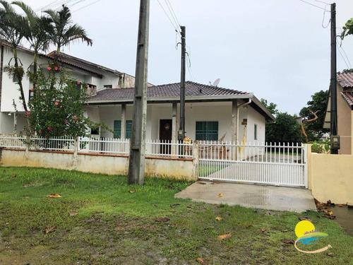 Casa Com 3 Suítes Barra Do Saí .200 Mts Da Praia. Itapoá Sc - Ca0626