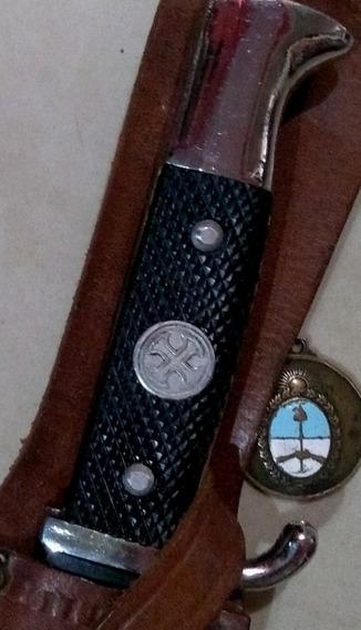 Antiguo Cuchillo Filtemple Tipo Bowie. Daga. Sable. Bayoneta