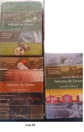 Lote 96-livro Seleções Readers Digest (4títulos Cada) Novo
