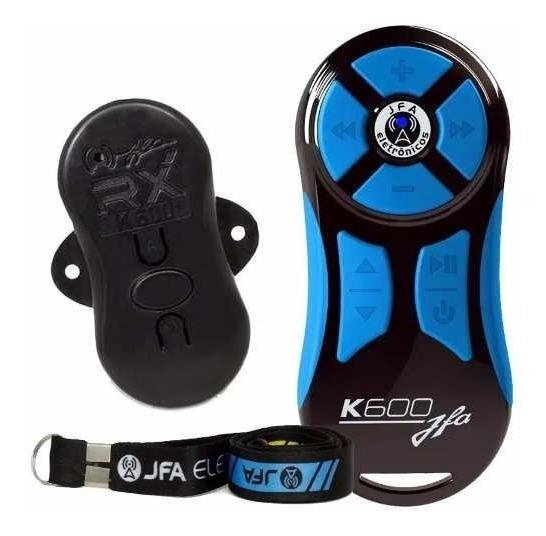 Jfa K600 Controle Longa Distancia Completo Preto E Azul