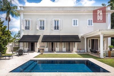 Casa Com 4 Dormitórios À Venda, 545 M² Por R$ 8.500.000 - Jardim Guedala - São Paulo/sp - Ca0055