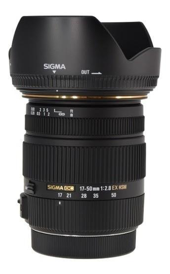 Lente Sigma 17-50mm F/2.8 Dc Ex Os Hsm Autofoco Estab Nikon