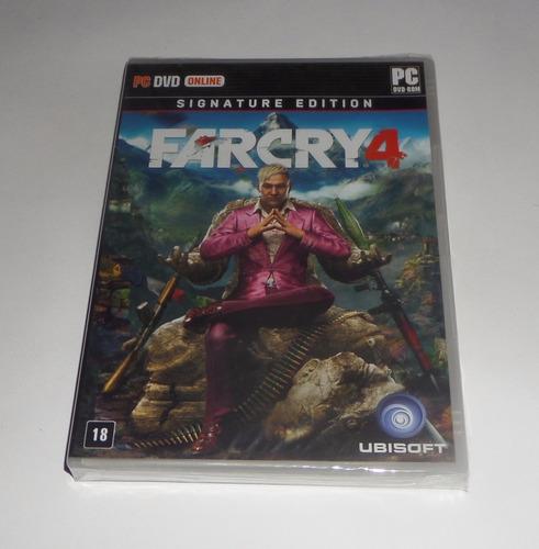 Far Cry 4 Signature Edition Original Lacrado Mídia Física Pc