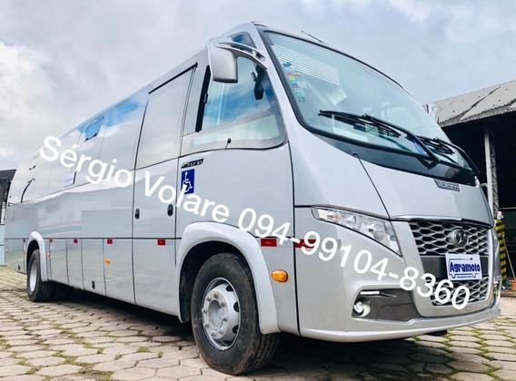 Micro Ônibus Volare Fly 10 Executivo Dta Cor Prata Ano 2019