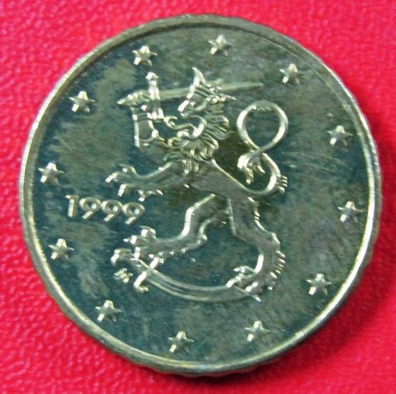 Finlandia Moneda 10 Centavos 1999 Unc Km #101