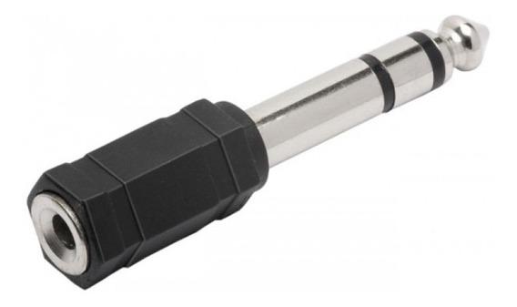 Adaptador Plug Entrada P2 Saida P10 Stéreo Fone Ouvido