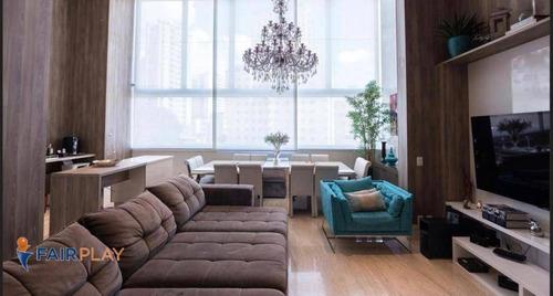 Imagem 1 de 30 de More No Alto De Perdizes 155 M² 3 Dormitórios Sendo 2 Suites 2 Vagas Com Pé Direito E Elevador Privativo - Ap6214