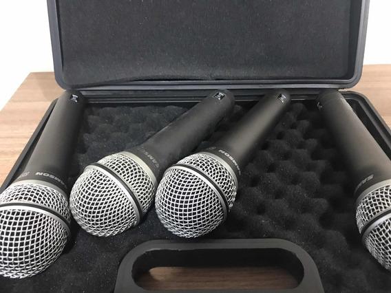 Kit Microfone De Mão Samson Q7 (r$ Unidade 180,00)