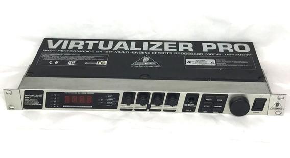 Rack Behringer Virtualizer Pro Dsp 2024p - Fotos Reais!