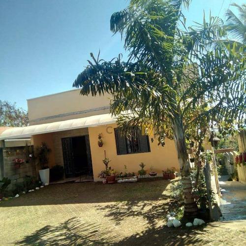 Imagem 1 de 18 de Chácara Com 3 Dormitórios À Venda, 700 M² Por R$ 580.000,00 - Chácara Recreio Cruzeiro Do Sul - Santa Bárbara D'oeste/sp - Ch0035