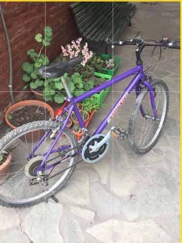 Bicicleta Mountain Bike. 18 Cambios. Rodado 24