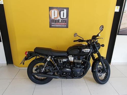 Triumph Bonneville T100 Black - 2020 - Equipada