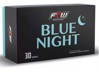 Triptofano+magnésio+b6+b9 - Blue Night Ftw Fitoway 30 Caps