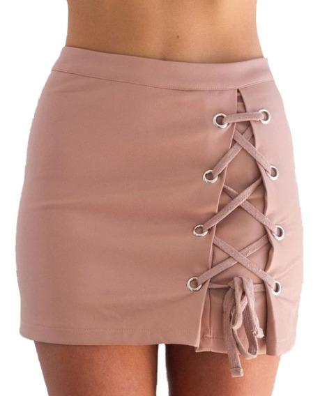Falda Para Mujer Con Ajustable Con Cordon F.24
