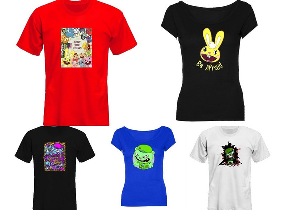 Remeras Happy Tree Friends Mtv Adult *mr Korneforos*