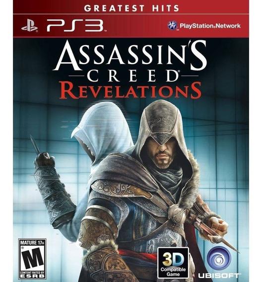 Assassins Creed Revelations Ps3 Novo Lacrado Midia Fisica