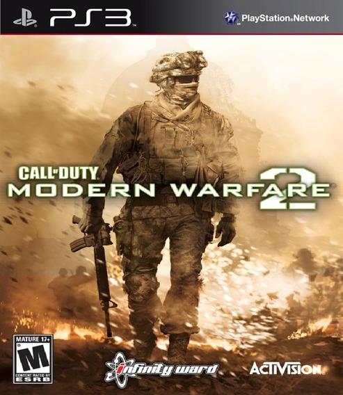 Call Of Duty Modern Warfare 2 Cod Mw2 + Stimulus Pack Ps3