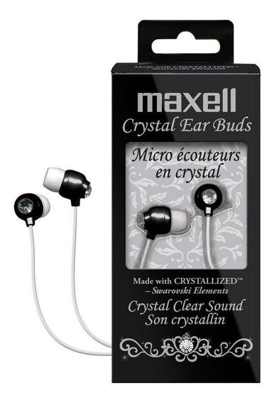 Fone Swaroviski Cristal Exclusivo Maxell Japan Único Trocas