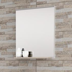 Espelheira Para Banheiro Balcony Up - Branco/cabernet