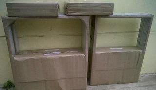 Embalaje Básico De Cartón Para Ventanas De Aluminio 1 Bulto