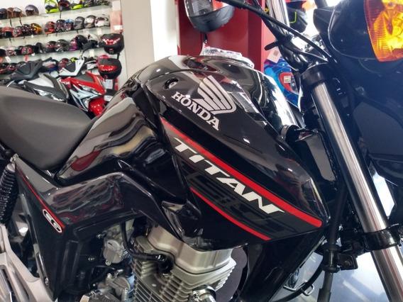 Honda Cg New Titan 0km **12 Cuotas De $13.300** Power Bikes