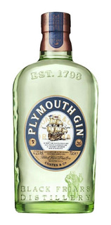 Gin Inglês Plymouth Garrafa 750ml