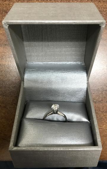 Anillo Compromiso 14k Diamante Natural .72 Ct Zales Store