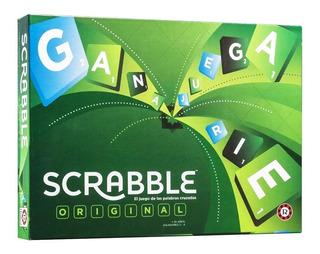 Juego Scrabble Original Mattel Ruibal Nuevo 2019 Lelab